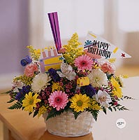 Beautiful Gift Basket for Birthdays