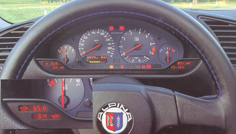 Who Has The Alpina Digital Gauge Display BMW M Forum And M Forums - Alpina bmw parts